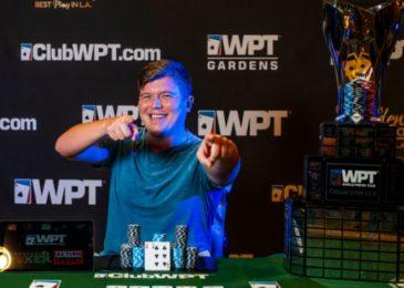 Роджер Теска выиграл $368,475 и BMW X1 2019 года на первом этапе WPT Gardens Poker Festival