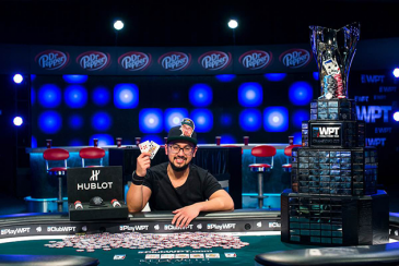 Ryan Tosoc win ME WPT Five Diamond Poker Classic