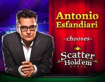 Scatter Hold'em Antonio Esfandiari