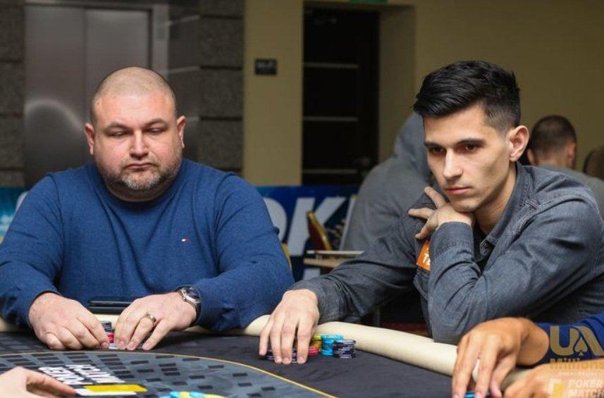 Сергей Ляхов (слева)