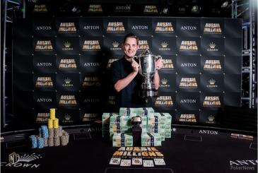 Toby Lewis win ME Aussie Millions Poker Championship