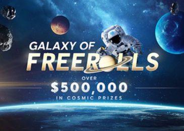 С 25 марта по 7 июня 888poker разыграет $500,000 на фрироллах в акции Galaxy of Freerolls