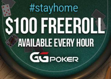 StayHome GGNetwork: ежечасные фрироллы и сниженный рейк турнирах с гарантиями