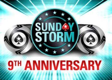 Юбилейный Sunday Storm на PokerStars пройдет с гарантией $1,000,000