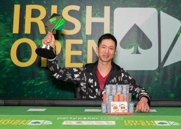 Вэйджи Чжэн выиграл самый долгий турнир в Европе — Irish Poker Open (€300,000)