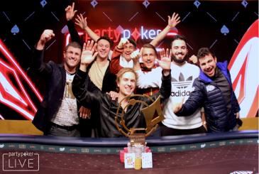 "Viktor ""Isildur1"" Blom wins the partypoker LIVE MILLIONS Germany €850,000"