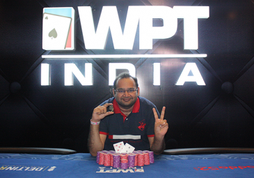 WPT India Vikash Mantri