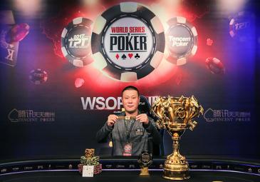 ZHOU YUN PENG WINS WSOP CHINA MAIN EVENT