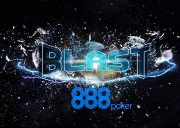 """В турнирах """"Blast"""" на 888poker увеличен максимальный приз до $1,200,000"""