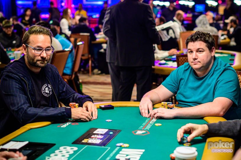 Даниэль Негреану и Шон Диб на WSOP 2019