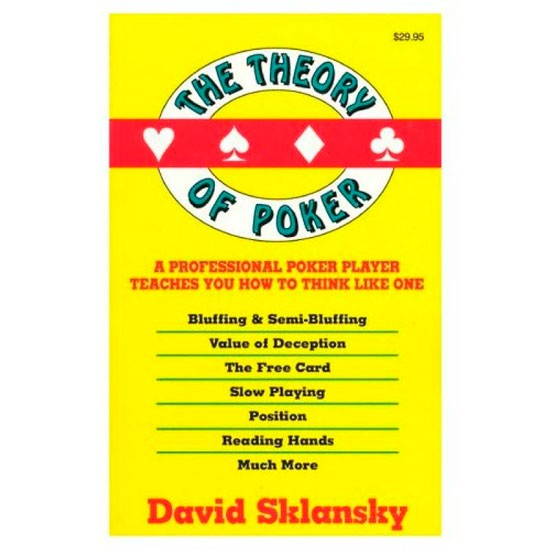 Обложка Theory of Poker