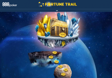 fortune trail 888poker