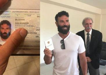Дэн Билзерян теперь гражданин Армении
