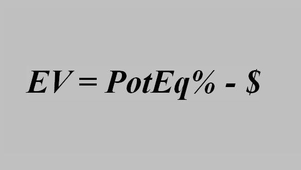 Вычисление EV по Eq