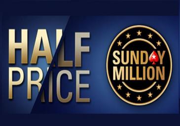 halfprice sunday million 10.12.2017