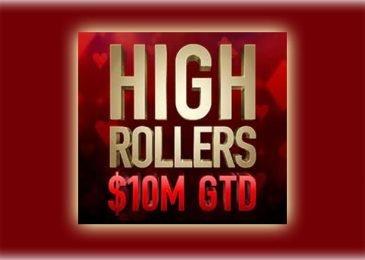 High Rollers Series возвращается на PokerStars 18 марта