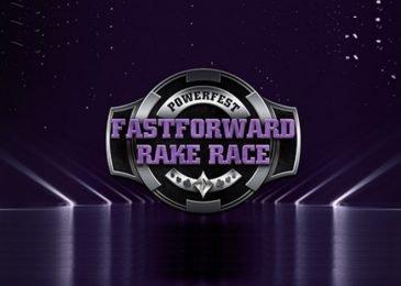 Partypoker проводит рейк-гонку Fastforward Rake Race