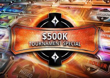 $500K Tournament Special: фрироллы на T$300,000 и лидерборды по T$50,000 на partypoker