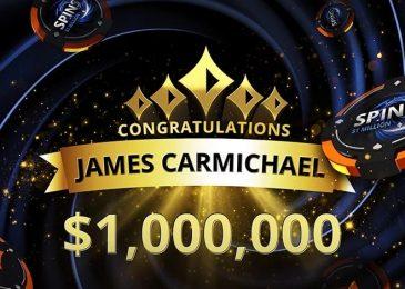 Британский игрок «James23C» выиграл $1,000,000 в SPINS за $5 на partypoker