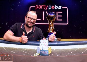 Лукас Заскодний выигрывает Main Event partypoker LIVE MILLIONS Europe