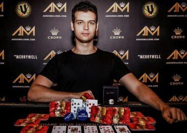 Майкл Аддамо выиграл свой первый перстень Aussie Millions в A$50,000 Challenge