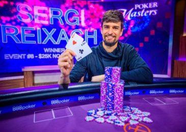Новости Poker Masters: Серхи Рейксач выиграл турнир за $25,000, Сэм Соверел претендует на фиолетовый пиджак