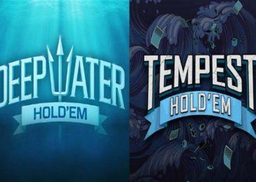 PokerStars запустил Deepwater и Tempest Hold'em