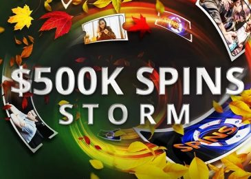 Spins Storm на partypoker – $500,000 в лидербордах и фрироллах