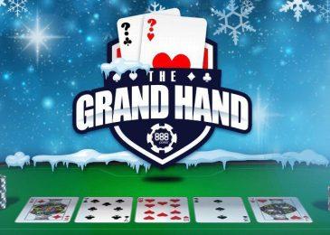 Акция «Grand Hand» на 888poker — до $1,000 за одну раздачу (до 20.01)