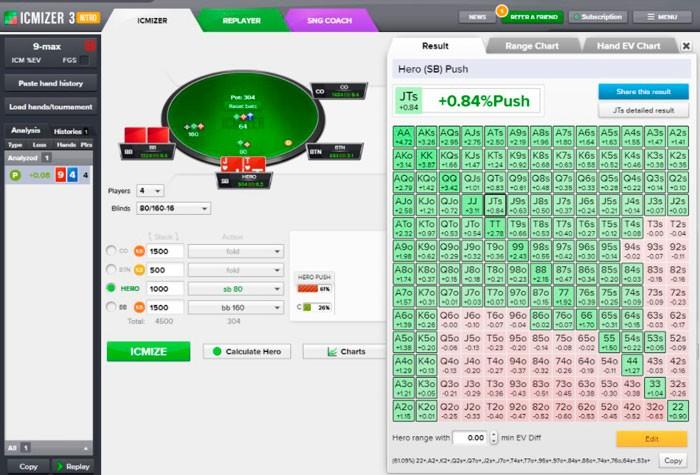Программа для покера онлайн расчет вероятности для pokerstars i рулетка на деньги играть в казино вулкан